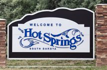 Welcome to Hot Springs, SD