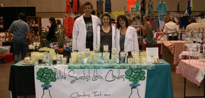The Mad Scientist Lotion Candles