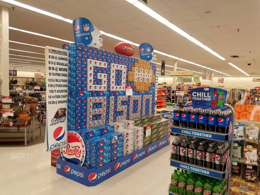 Pepsi Product Display