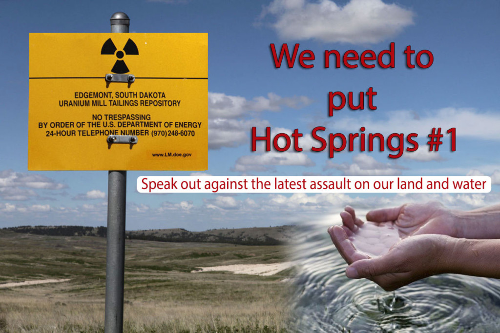 Stop Uranium Mining - Hot Springs South Dakota