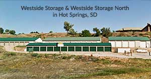 Westside Storage and Westside Storage North in Hot Springs, SD