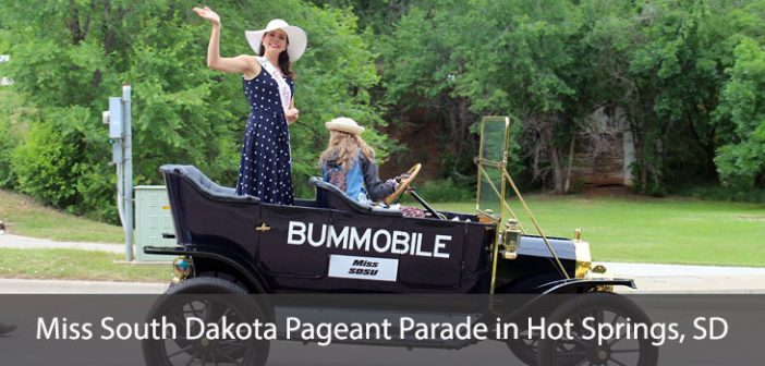 Miss South Dakota Pageant Parade in Hot Springs, SD