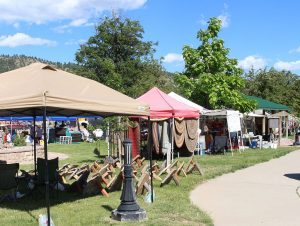 Photo of outdoor events include art and craft shows in Hot Springs South Dakota 57747