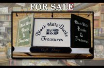 Black Hills Books and Treasures Bookstore For Sale