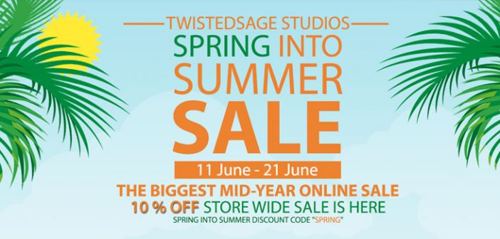 Spring Into Summer Discount 10% Off All Tools Until June 21