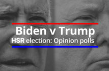 Trump versus Biden election opinion polls image