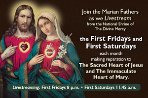 The Sacred Heart of Jesus and The Immaculate Heart of Mary.
