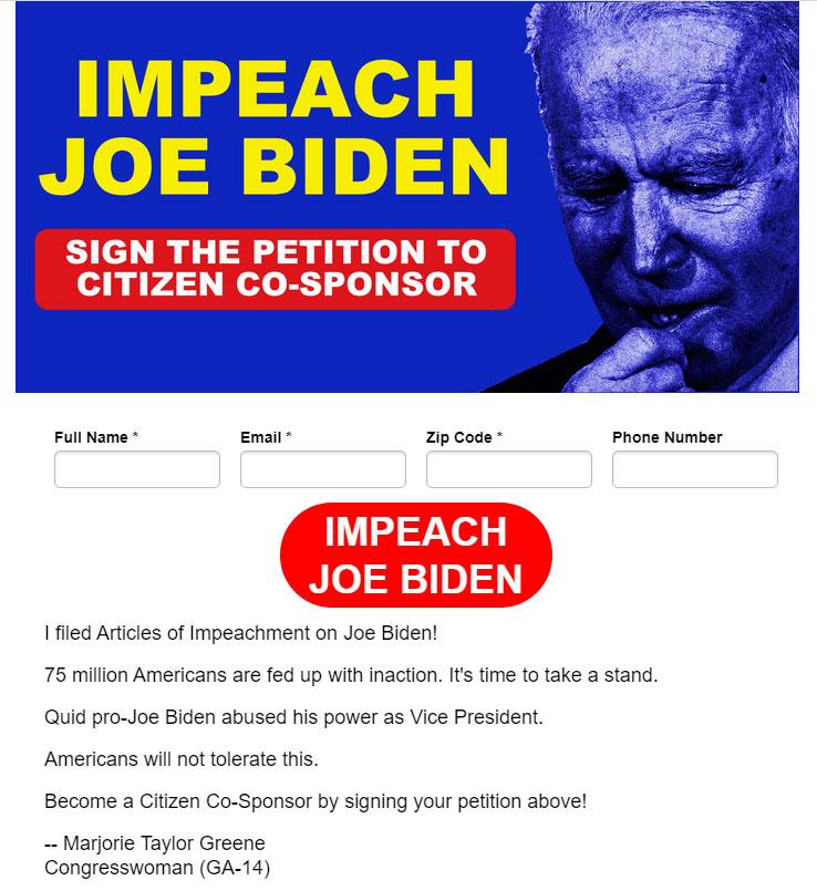 Joe Biden Impeachment